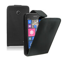 Leather Mobile Phone Nokia Lumia 630 / 630 Dual Sim - Flip Case Cover