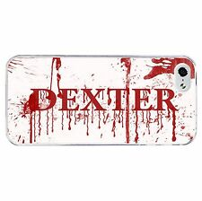 Blood Dexter Phone Case Hard Cover (Fits Iphone 4 4s 5c 5 5s 6 6+)