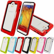 HYBRID DUAL PIECE BUMPER CASE COVER FOR SAMSUNG GALAXY NOTE 3 N9000
