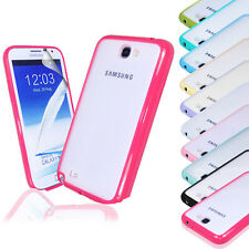SILICONE BUMPER PHONE CASE COVER FOR SAMSUNG GALAXY NOTE 2 II N7100 SC