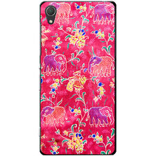 Indian Elephants Hard Case For Sony Xperia Z Series Phone Models