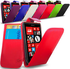 NOKIA LUMIA 720 - NEW PU LEATHER FLIP CASE COVER POUCH