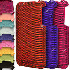 Chrome Sparkle Case for Apple iPhone 3GS/3G Shiny Glitter Hard Back Co