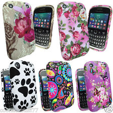 Stylish Paws Flower For Blackberry Curve 9320 Silicone TPU Gel Mobile