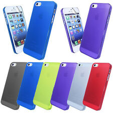 NEW FROSTED CASE COVER FOR APPLE IPHONE 5G + SCREEN PROTECTOR