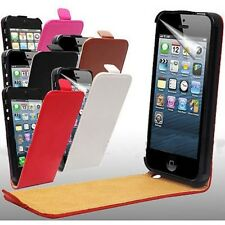 FOR APPLE IPHONE 5S 5G PU LEATHER HARD MOBILE PHONE FLIP CASE COVER SH