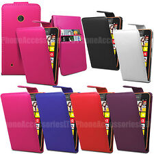 Flip Leather Case Cover With Card Slot For Nokia Various Phone Models