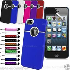 Stylish Chrome Series Hard Back Case Cover Skin For iPhone 5, 5S + SP