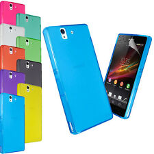 NEW FROSTED MATTE CASE COVER FOR SONY ERICSSON XPERIA Z L36H + SCREEN