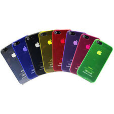 Silicone Gel ULTRA Thin Phone Case Cover for APPLE iPhone 5 5S Transpa