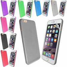 0.3MM ULTRA THIN PLASTIC PC SEMI TRANSPARENT FROSTED FOR IPHONE 6 PLUS