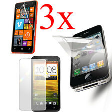 3X Clear LCD Screen Protector Film Guard For Nokia Phone Models + Clea
