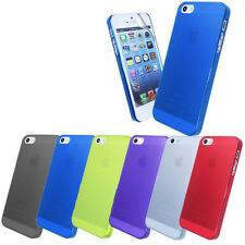 NEW FROSTED CASE COVER FOR APPLE IPHONE 5S + SCREEN PROTECTOR