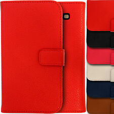 Leather Wallet Case for Samsung Galaxy S3 i9300 Folio Flip Magnetic Ly