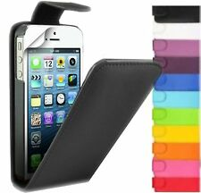 NEW PU Leather Flip Case Cover Pouch For New Various iPhone Mobile+Fre