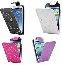 Bling Diamond Flip Leather Case For Samsung Galaxy S3 i9300 + Screen P