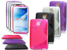 NEW STYLISH S LINE GEL SOFT BACK CASE COVER FOR SAMSUNG GALAXY NOTE 3