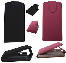 Flip Leather Case Cover and Screen Protector for Sony Ericsson Xperia