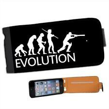Evolution Of A Cricket Player Leather Flip Case for Apple iPhone 5s