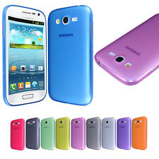 NEW ULTRA THIN TRANSPARENT CASE COVER FOR SAMSUNG GALAXY GRAND DUOS i9