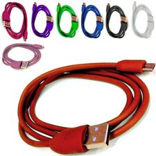COLOURED USB CHARGER CABLE  FOR Logitech Ultimate Ears  BOOM BLUETOOTH