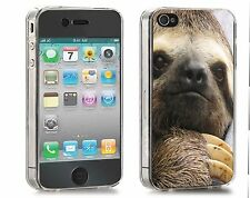Sloth Iphone Case (Fits Iphone 4/4s, 5c, 5/5s) Funny Animals