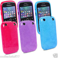 FOR BlackBerry Curve 9220 9320 Glossy Glitter IMD Silicone Gel Case Co
