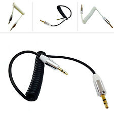 1m COILED 3.5MM STEREO JACK TO JACK CABLE FOR XPERIA Z ULTRA C6802 C68