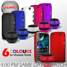 HARD BACK PROTECTIVE CASE COVER, SPEAKER & FILM FOR BLACKBERRY CURVE 9