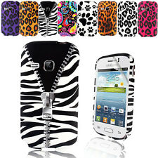 STYLISH PRINTED TPU GEL CASE COVER FOR SAMSUNG GALAXY YOUNG S6310+SCRE