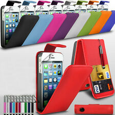 Samsung Galaxy Ace S5830 PU Leather Flip Case Cover, Retractable Stylu