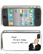 Eminem Quote Iphone Case (Fits Iphone 4/4s, 5c, 5/5s)