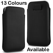 PREMIUM PU LEATHER PULL FLIP TAB CASE COVER POUCH FOR BLACKBERRY Z10 B