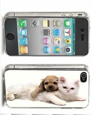 Kitten & Puppy Iphone Case (Fits Iphone 4/4s, 5c, 5/5s)