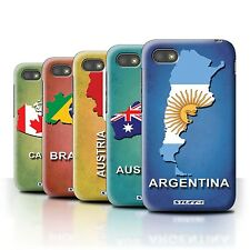STUFF4 Phone Case/Back Cover for Blackberry Q5 /Flag Nations