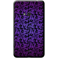 Elegant Floral Wallpaper Hard Case For Nokia Phone Models