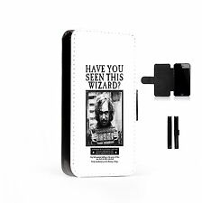 Sirius Black Printed Faux Leather Flip Phone Case Cover Wallet Harry P
