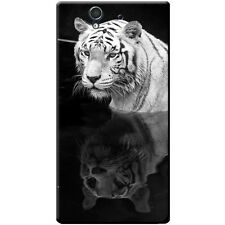 White Tigers Hard Case For Sony Xperia Z (C6603, C6602)