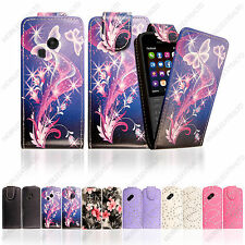 New PU Leather Magnetic Flip Case Cover Pouch For Nokia 220 / 220 Dual