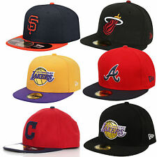 New Era Cap 59Fifty New York Yankees NY LA ATL Lakers NBA MLB Baseballcap Kappe