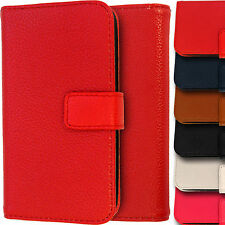 Leather Wallet Case for Apple iPhone 4/4S Folio Side Flip Magnetic Lyc