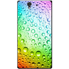 Coloured Water Droplets Hard Case For Sony Xperia Z (C6603, C6602)