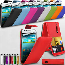 Nokia Lumia 520 PU Leather Flip Case Cover with Mini Touch Pen & LCD P