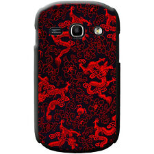 Chinese Dragons Hard Case For Samsung Phone Models