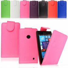 New PU Leather Flip Case Cover Pouch For Model Nokia Lumia Mobile Phon