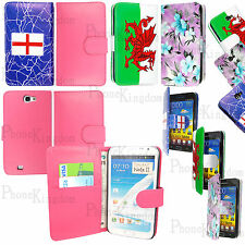 For Samsung Galaxy Note N7000 / i9220 Wallet Leather Case Cover + Scre