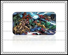 Super Hero All Character Marvel Hard Case For iPhone 4 5 5C 6 Plus iPo