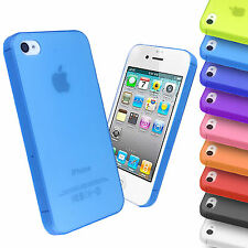 Ultra Thin Frosted Hard Back Case Transparent Matte Cover for Apple iP