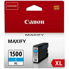 ORIGINAL PGI-1500XLC CYAN INK CARTRIDGE FOR CANON MAXIFY PRINTERS (9193B001AA)