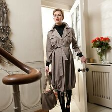 BNWT VANESSA KNOX (co-founder ISABELLA OLIVER) MATERNITY TRENCH COAT. RRP £225